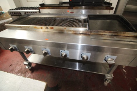 Gas fired Bar-b-que grill £720