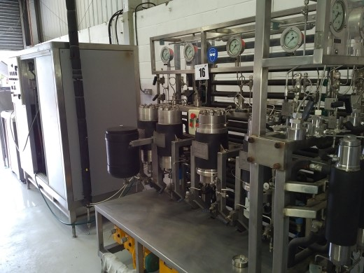 CO2 extraction plant £22050