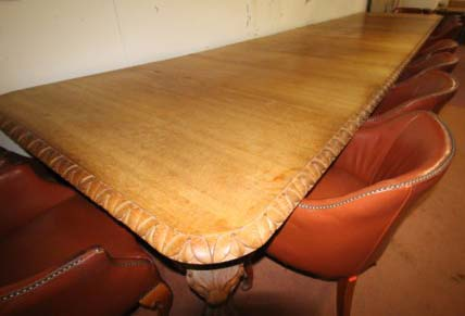 23ft long table sold £3100.