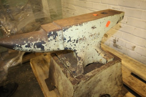Anvil on stand £300