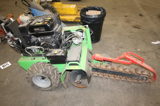 Trenching machine £1160