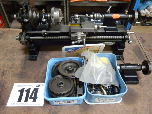 GF Stringer Watch Makers Lathe Sold £360