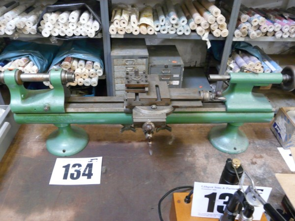 American Watch Tools Co Lathe Sold £90