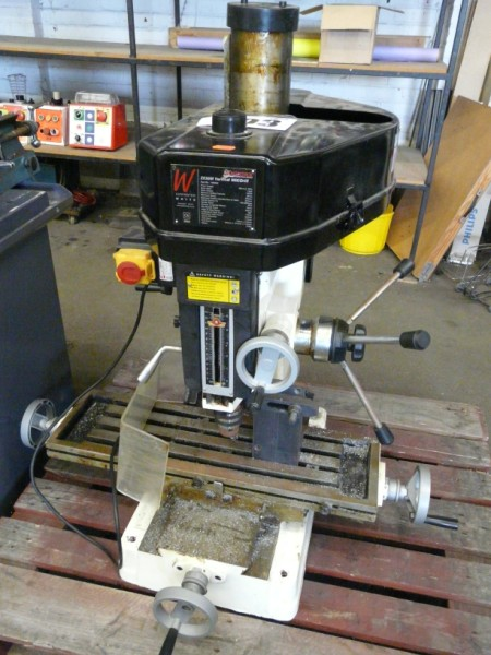 Axminster Vertical Milling Machine Sold £550