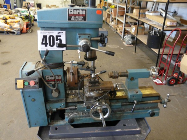 Clark Drill / Mill Machine & Lathe Sold £410